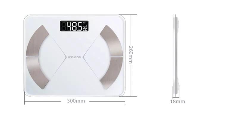 Pèse-personne I31 à Impédancemètre Bluetooth