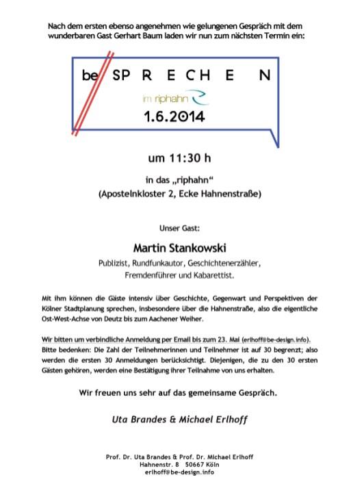 be//spak at Riphahn - Martin Stankowski