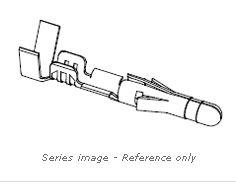 MOLEX .093 MALE PIN 18-22AWG 02-09-2118C