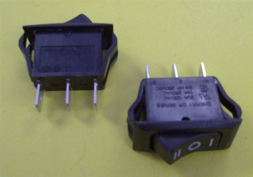 Toggle Switch 20 Amp Sealed 0250 Flat Terminal Dpst Onoff