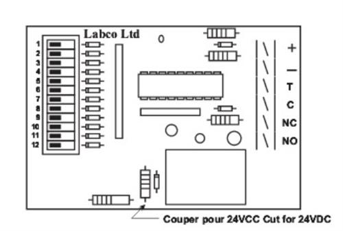 LABCO UNIVERSAL PROGRAM TIMER PCB 6 MODES 12/24VDC TM1PLUS