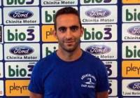 Alberto es presentado como nuevo jugador de la Ponferradina