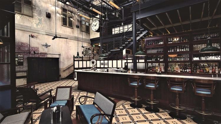 Dishoom Bar Area