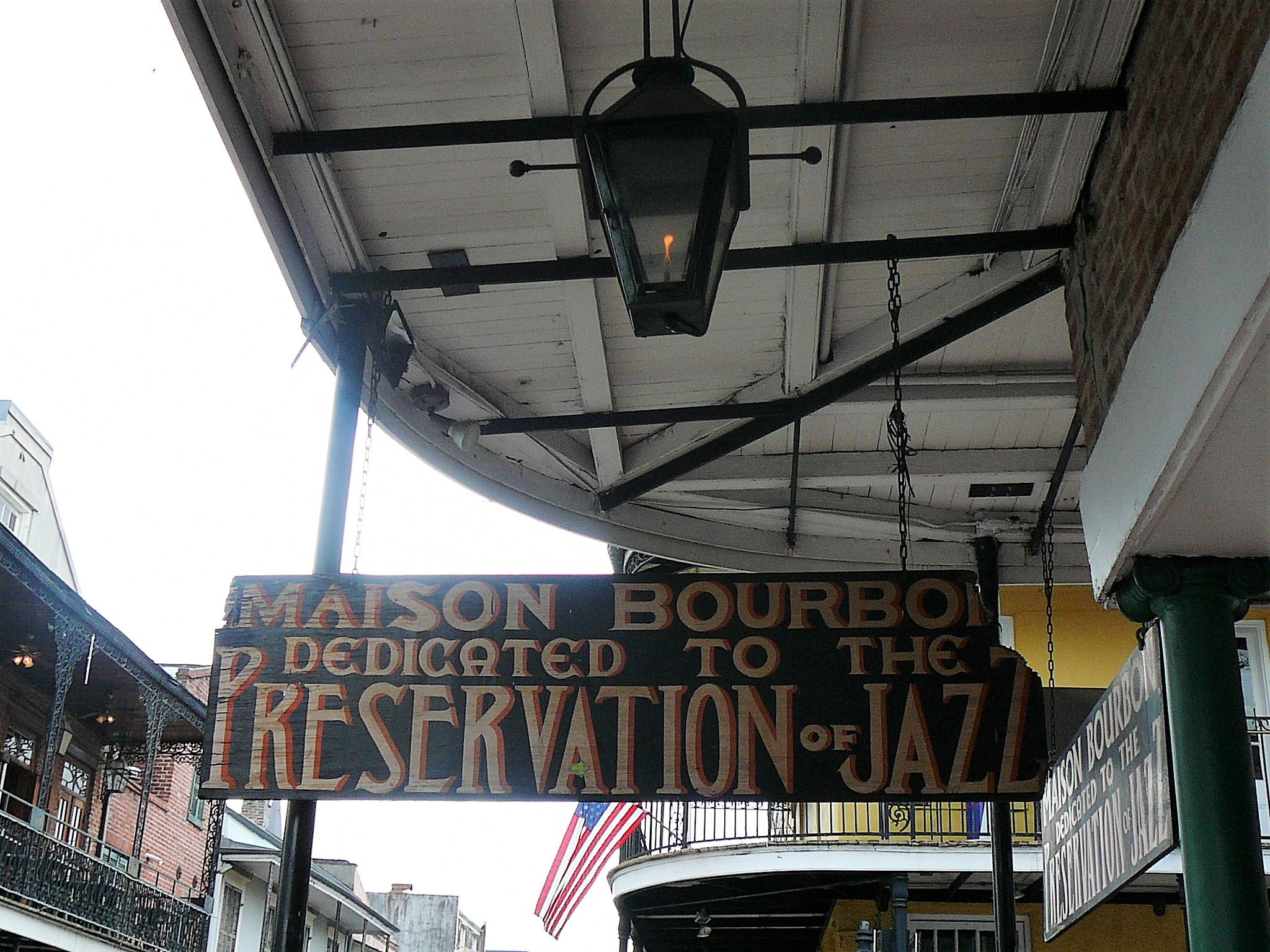 Bourbo Street Signs in New Orleans
