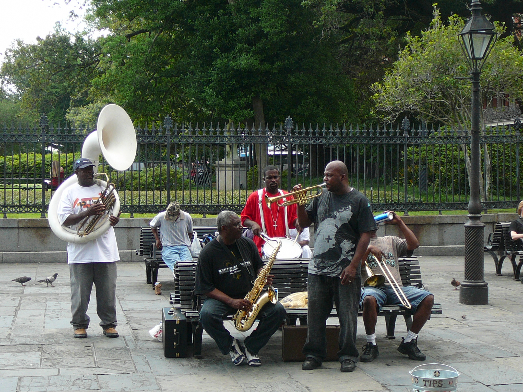 Street Bands in New Orleans