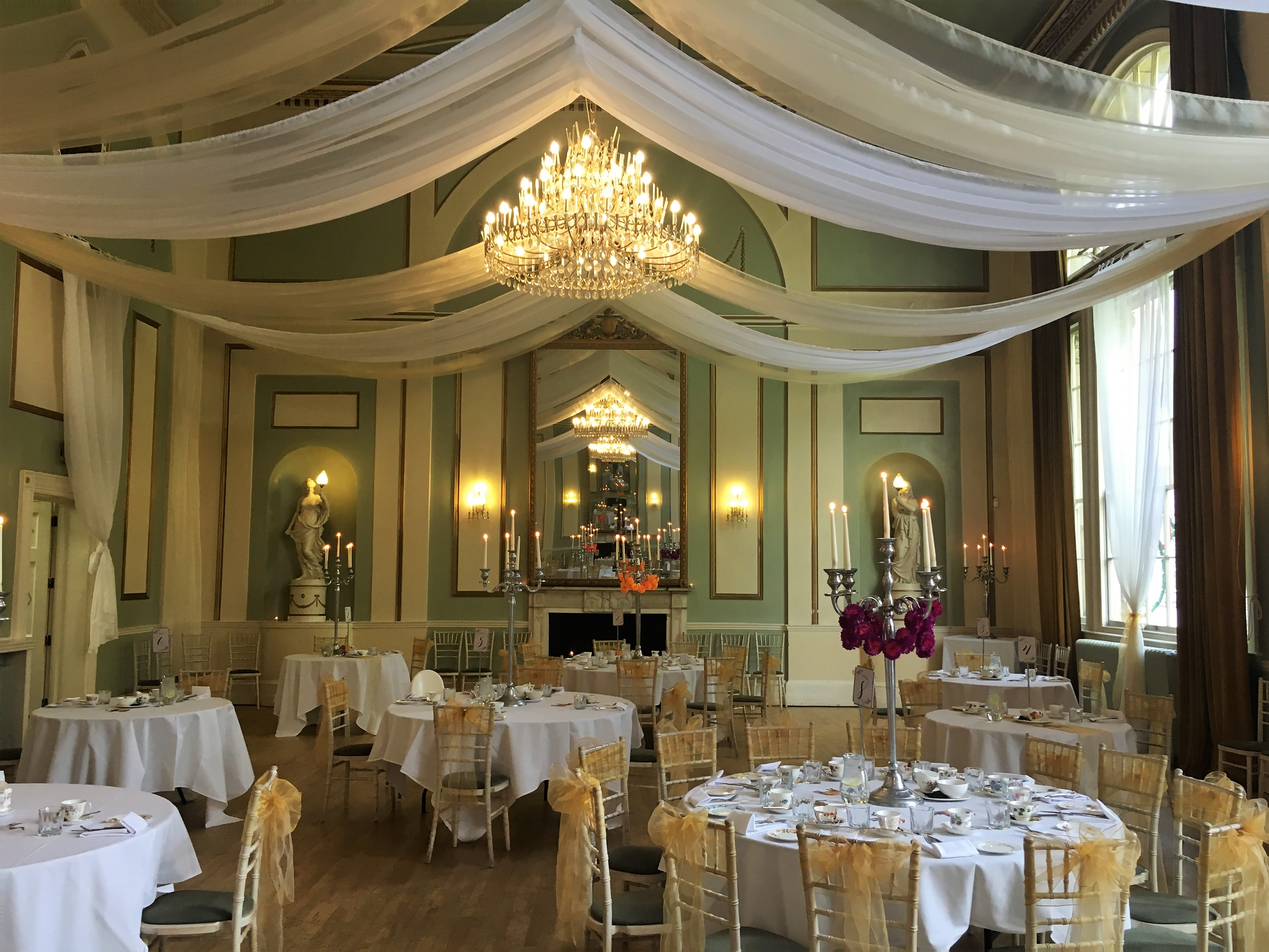 Indian Afternoon Tea at The City Rooms Ballroom