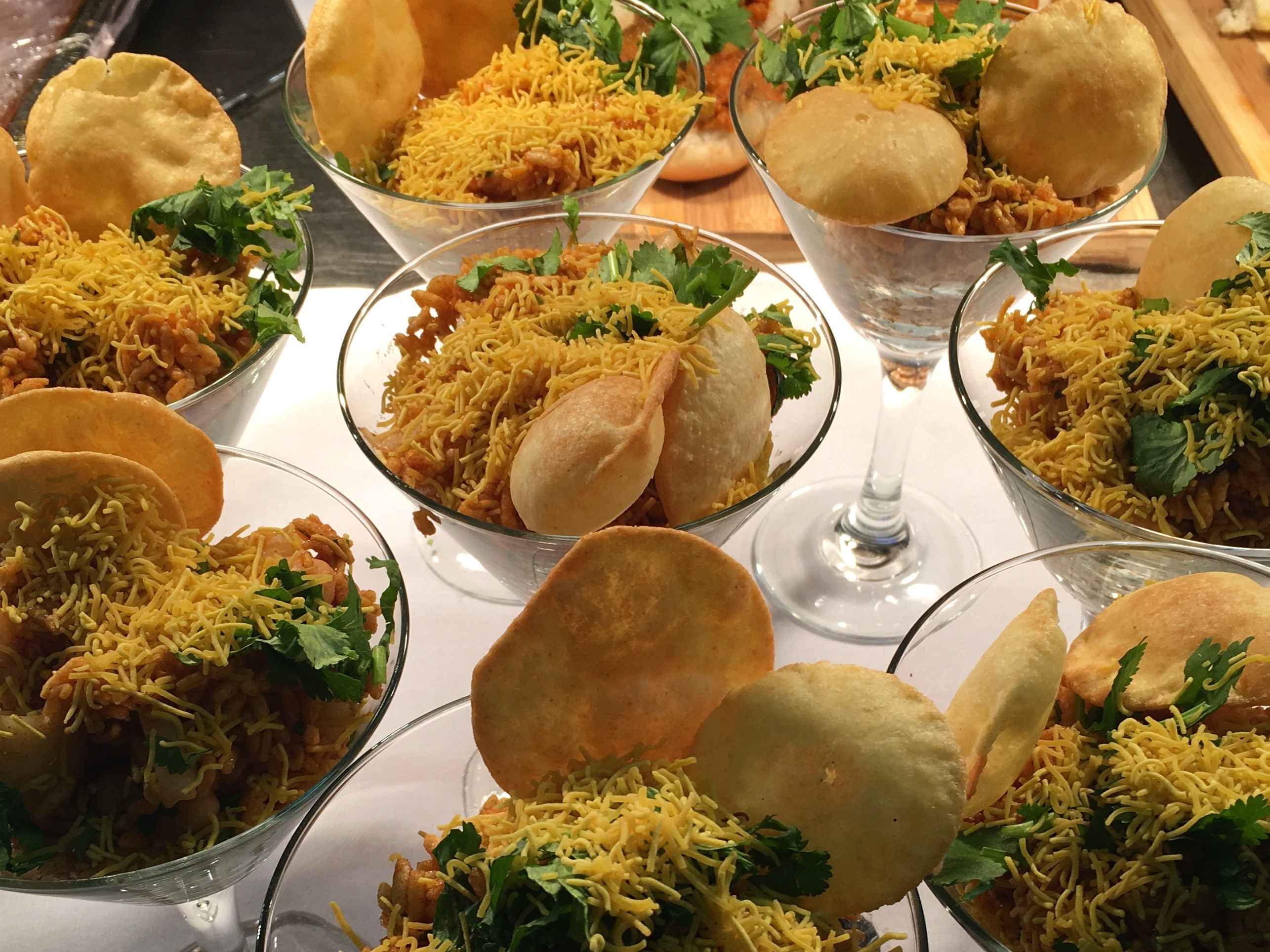 Indian Afternoon Tea at The City Rooms Ballroom Chef Rishi