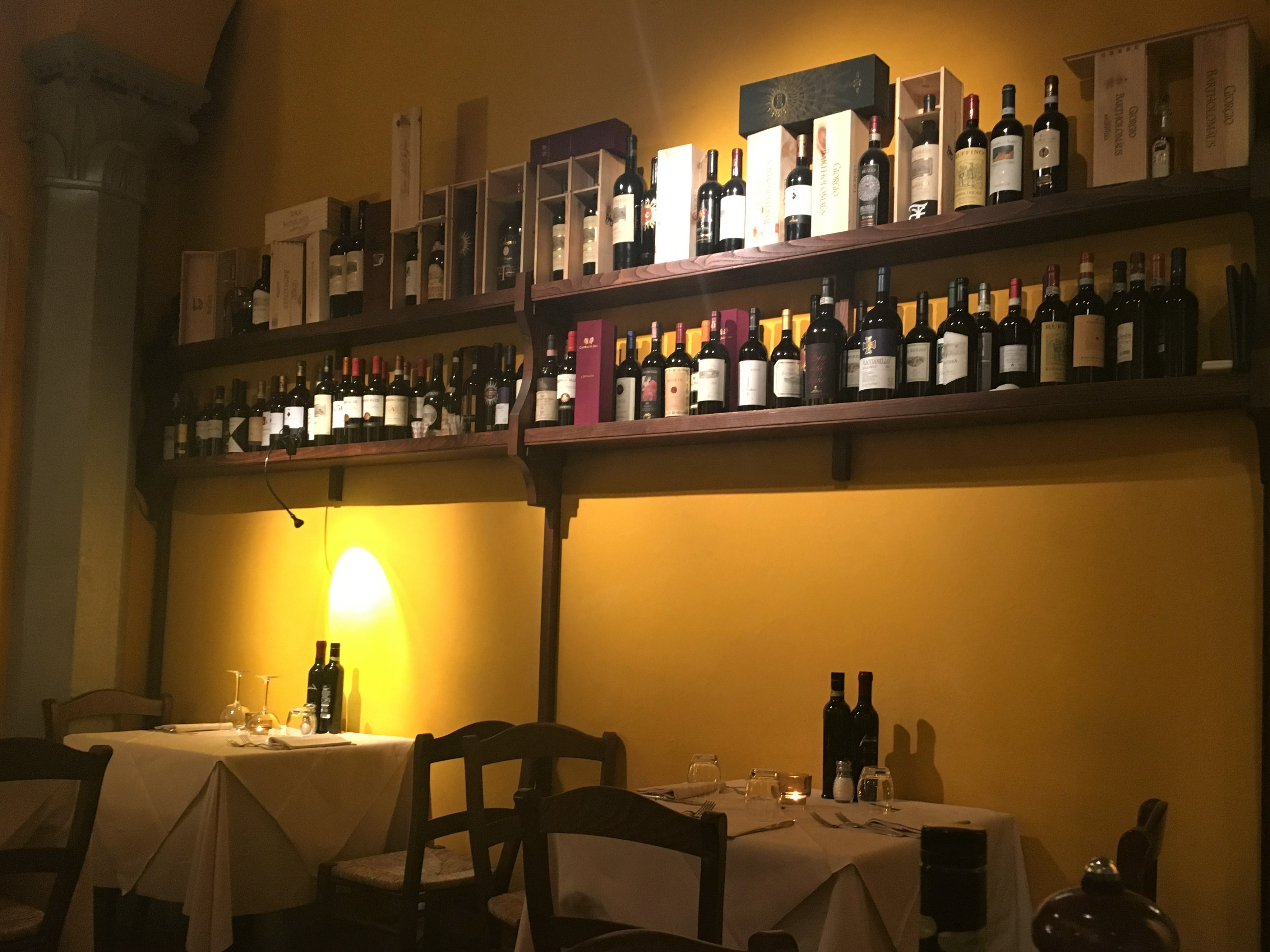 Fine Dining Florence Parione