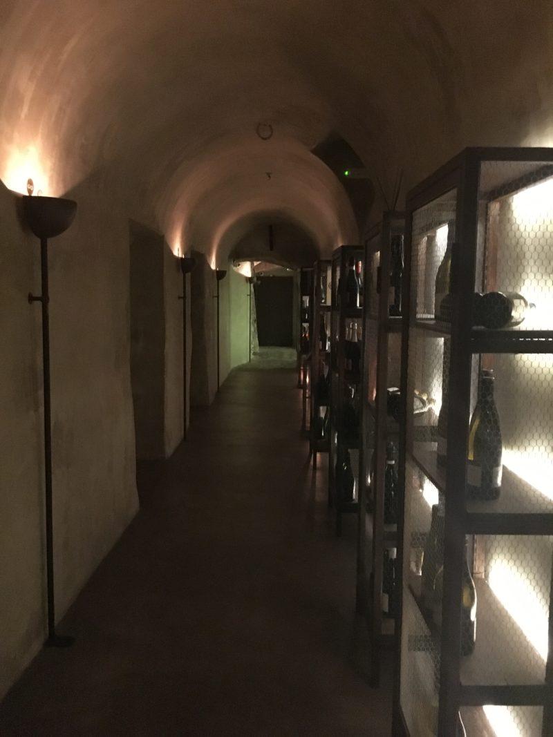 Locale Firenze Basement Corridor