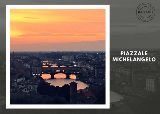 Postcard worthy view of Florence, Piazzale Michelangelo Ponte Vecchio