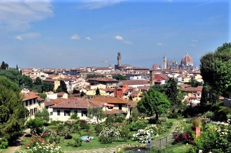 8 things I rediscovered on my return to Florence. Giardino delle Rosa