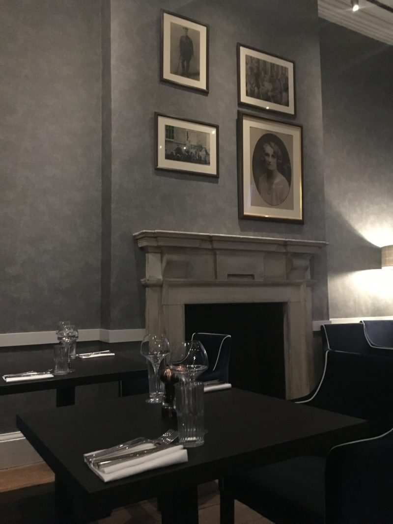 Fine fare at The Black Iron Resturant, Winstanley House