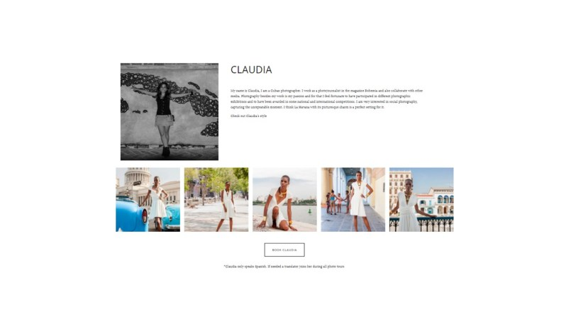 A birthday souvenir from Havana captured by Shoot my Travel Claudia Photographer profile