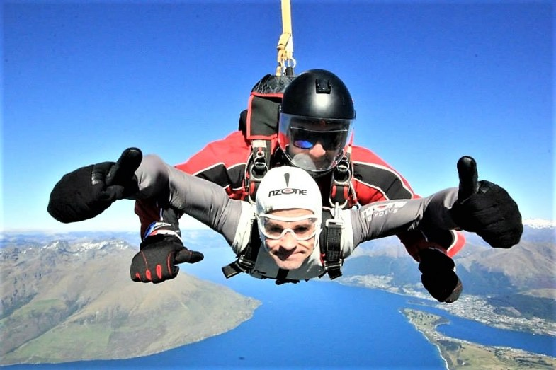 My 10 most romantic moments from around the globe. Skydive Will