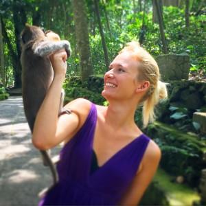 Monkey, Forrest, Monkey Forrest, Ubud, Bali, Jungle, Smile, Happy