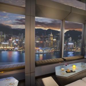 Ozone, Bar, HK, hong kong, view, highest bar of the world, 118th floor