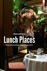 lunch, places, barcelona, spain, travel, travel blog, travel blogger