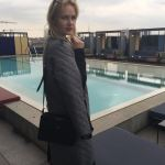 Miriam Ernst, Fashion week,Fashion Blogger, MFW 2016, siramilano, look, outfit , coat, ceresio 7