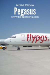 Pegasus Airline Review 'Be-Travelled' www.be-sparkling.com