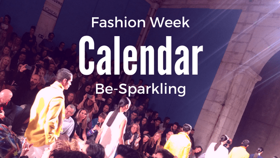 Fashion Week Calendar