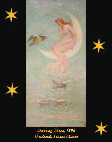 Shooting Stars - Frederick Stuart Church (1842 - 1924) - 1896