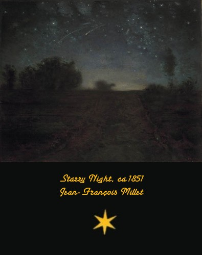 Starry Night - Jean-François Millet - ca. 1851