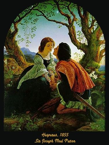 Hesperus - Sir Joseph Noel Paton - 1855
