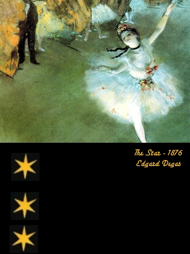 The Star - Edgard Degas - 1876