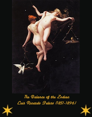 The Balance of the Zodiac - Luis Ricardo Falero