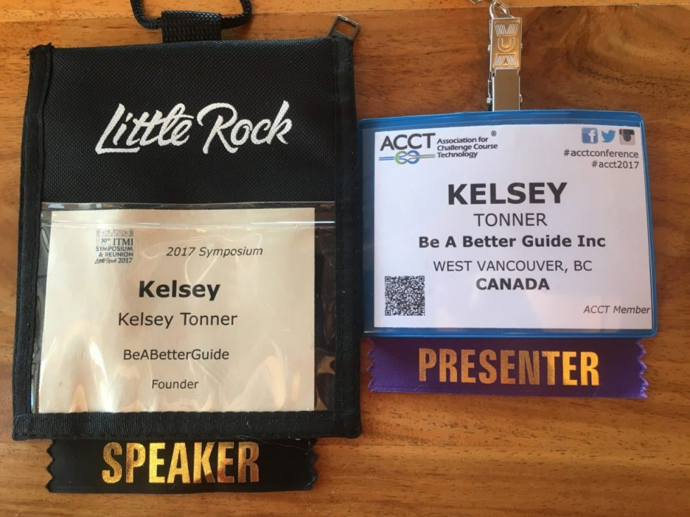 Kelsey Tonner - Speaking and Keynote Badges - Conferences Be a Better Guide