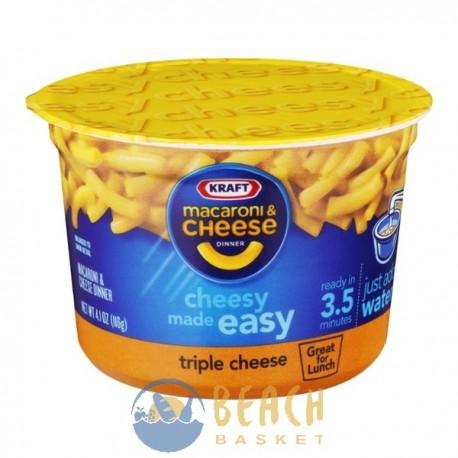 Kraft Macaroni Cheese Triple Cheese Beach Basket Belize