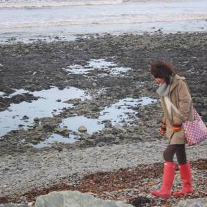Beachcombing in all weathers