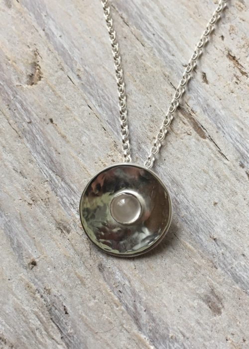 Moon on the water pendant