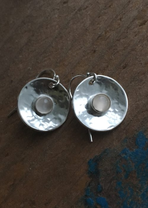 Moon on the water earrings