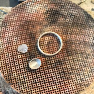 Making the Quartz ring