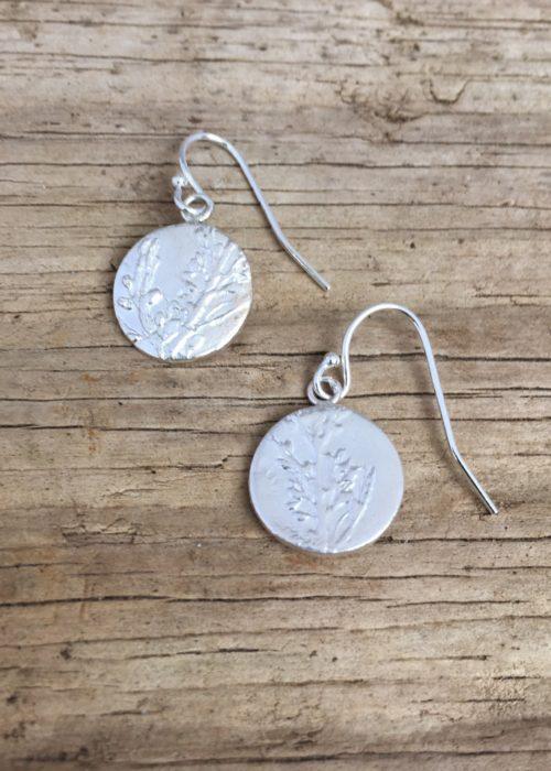 Sargassum Seaweed earrings