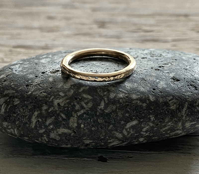seren recycled gold ring