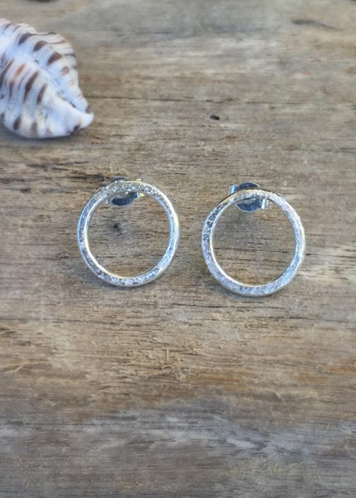 sand rings earrings