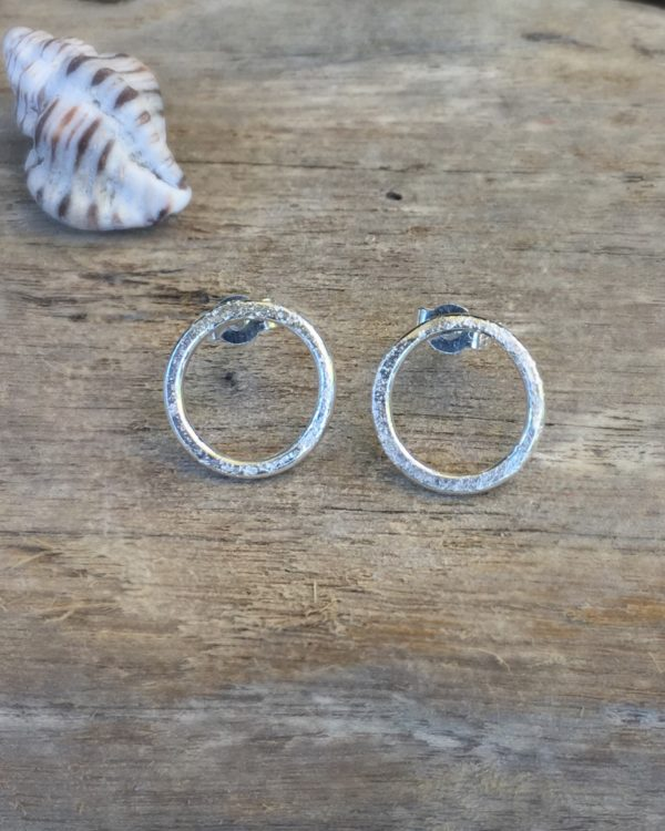 sand rings earrings