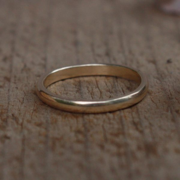 hiraeth – recycled gold ring