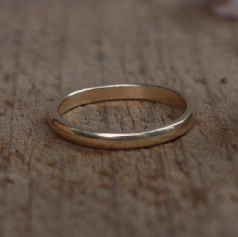 hiraeth - recycled gold ring