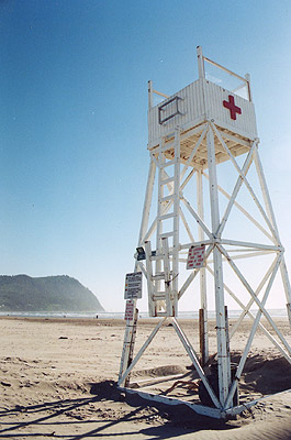 Lifeguard Station on Seaside Northern Beaches  Seaside