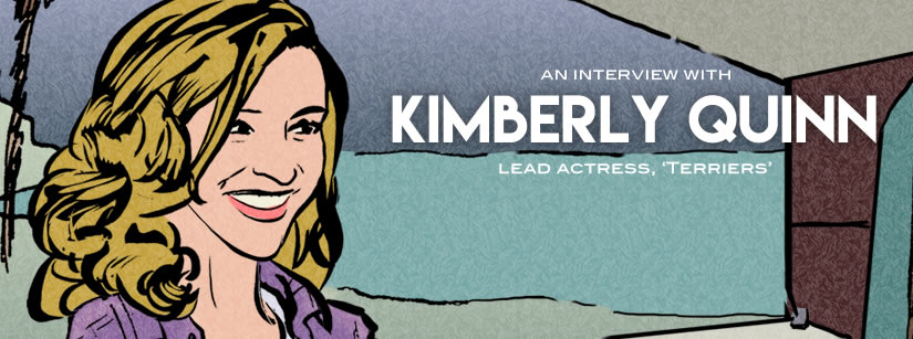 Interview Lead Actress Kimberly Quinn Beach Cop Detectives