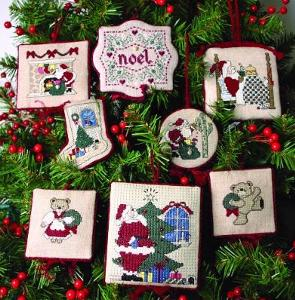 Christmas Ornaments Cross Stitch Patterns