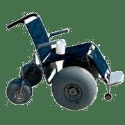 Debug Deluxe beach wheelchair