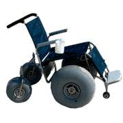 Debug Deluxe beach wheelchair