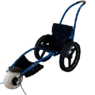 Hippocampe amphibious beach wheelchair
