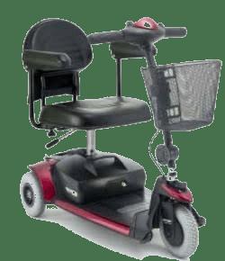 Lightweight Power Scooter