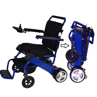 Fold and Go Power Wheelchair