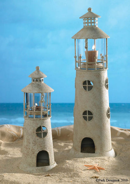 19 Light House Candle Holder